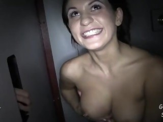 Gloryhole Latina Cum Swallower bdsm latin