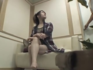 Perfect Japanese babe banged in voyeur massage video japanese asian