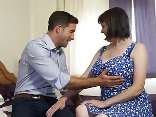 Dream mother pleasing hungry son mature blowjob