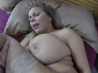 Stepmom & Stepson Affair 61 (Mom I Always Get What I Want) milf creampie