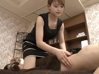 Amazing Japanese whore Akiho Yoshizawa in Crazy handjobs, milfs JAV clip handjobs asian