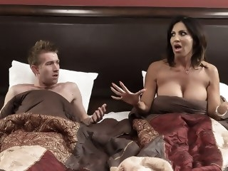 Tara Holiday & Danny D in Overnight With Stepmom: Part One - Brazzers creampie big tits