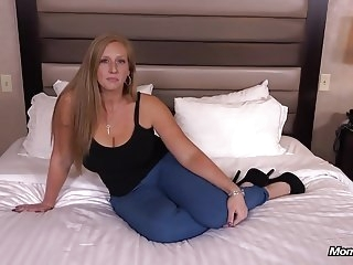 Ginger gets thick ass fucked POV redhead anal